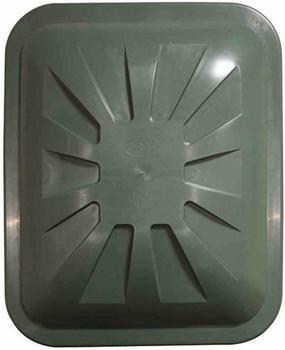 Graf Regentonnen-Deckel eckig 520 Liter grün