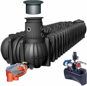 Graf Komplett-Set Haus Eco Plus 15000 Liter