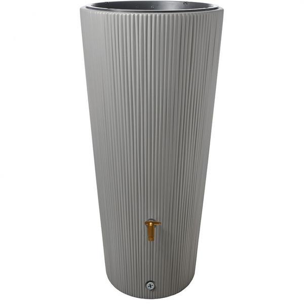 4rain VASO 2in1 220 Liter zinkgrau