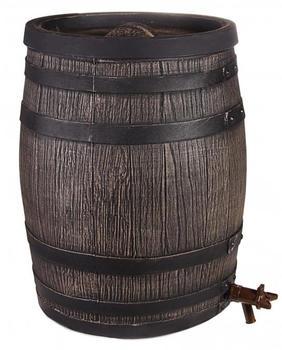 Ondis Regentonne Eichenfass-Look 50 Liter