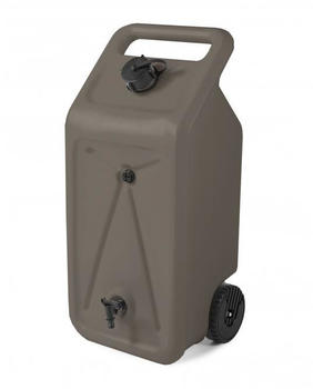 Ondis Wasserspeicher mit Rollen Nomade 55 Liter taupe