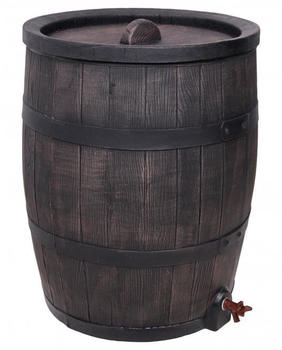 Ondis Regentonne Eichenfass-Look 120 Liter