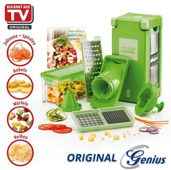 Genius Nicer Dicer Magic Cube Set 12 tlg.