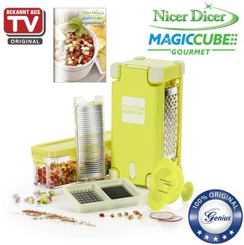 Genius Nicer Magic Cube Set 9-tlg. gelb