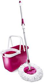 Leifheit Clean Twist Mop Set royal blau 52033