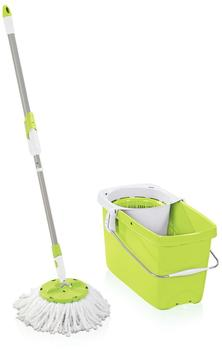 Leifheit Clean Twist System Set Disc Mopp (Shiny Green)