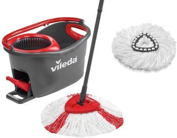Vileda EasyWring & Clean TURBO Komplett Set mit Ersatzkopf (153095)