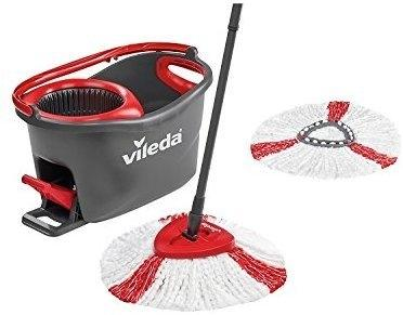 Vileda EasyWring & Clean TURBO Komplett Set mit Ersatzbezug (158572)