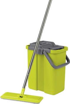 CLEANmaxx Wischsystem Komfort-Mopp Grau/Grün (09996)