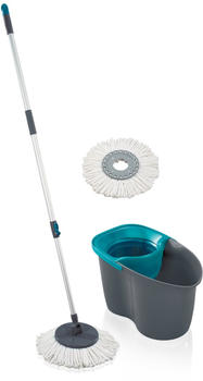 Leifheit Rotation Disc Mop 60 Years Edition grey lagoon ( 55269)