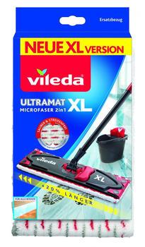 Vileda Ultramat XL Universal Ersatz-Wischbezug, Bezug, für Ultramat XL Flachwischer