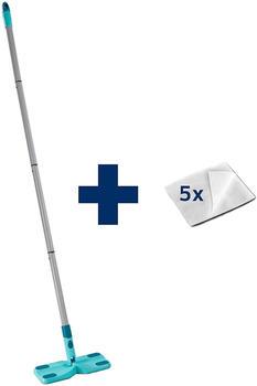leifheit-bodenwischer-clean-away-set-flachwischer-starterset-stiel-5-tuecher-56666
