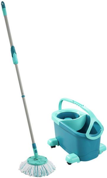 Leifheit Clean Twist Disc Mop Ergo mobile Wischset 4-teilig 52102