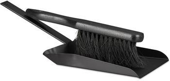 relaxdays-kehrgarnitur-37-cm-stahl-kehrset-mit-handfeger-handschaufel-mit-lochung-outdoor-und-indoor-schwarz