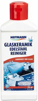 Heitmann Glaskeramik und Edelstahl Reiniger 3 in 1