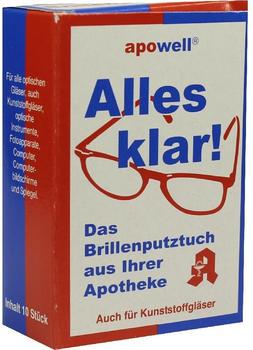 ABC Brillenputztuch Alles Klar 10 St.