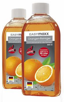 EASYmaxx Orangenreiniger 3-tlg. inkl. Sprühflasche (2x 500ml)