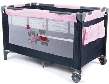 Chic 4 Baby Reisebett Luxus Pink Checker