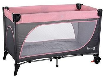 Baby Plus Lucca Plus Leaf Grey/Rose