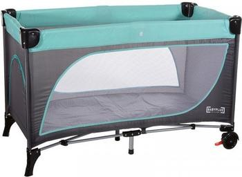 Baby Plus Lucca Plus Leaf Grey/Mint