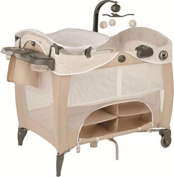 Graco Kinder Reisebett mit integrierten und faltbarerem Wickeltisch, patentiertes faltsystem, benny bell