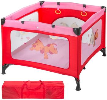 TecTake Baby Laufstall Tommy Junior - Pink