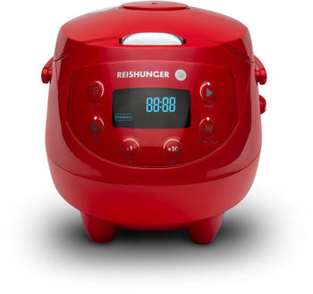 Reishunger Mini Reiskocher 0,6l rot