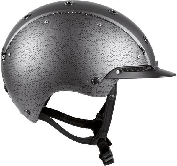 Casco Champ-3 Gunmetal silber 56-58 cm
