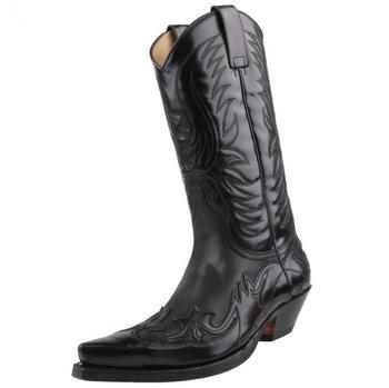 Sendra Boots Westernboots 3241 florentic negro/sprinter negro