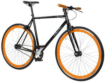 Viking Blade Fixie 28 Zoll RH 59 cm schwarz/orange