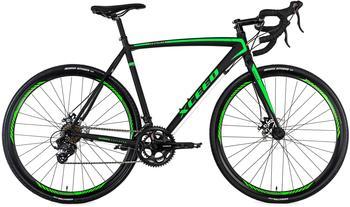 KS-CYCLING KS Cycling Gravelbike Rennrad 28 Xceed schwarz-grün