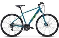 Fuji Bikes Fitnessbike TRAVERSE 1.5 DISC, 24 Gang Shimano Altus Schaltwerk, Kettenschaltung blau grün