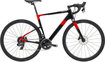 "Cannondale Topstone Carbon Force eTap AXS acid red L | 55cm (28"") 2020 Rennräder"