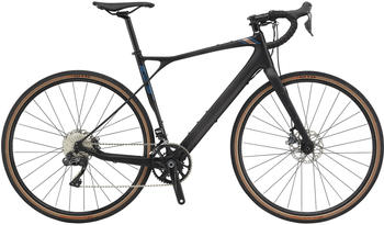 "GT Bicycles Grade Carbon Pro Herren satin black/copper/dusty blue 55cm (28"") 2020 Rennräder"