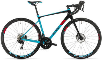 Cube Axial WS GTC Pro (2020) lightblue n red