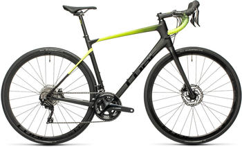 Cube Attain GTC Race (2021) carbon'n'flashyellow