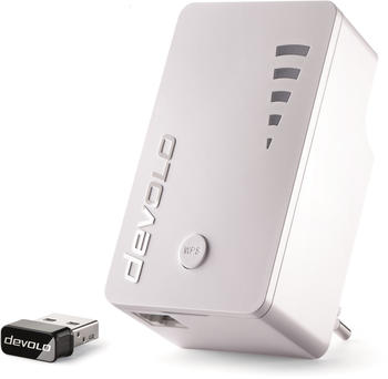 devolo WiFi Repeater ac + WiFi Stick ac