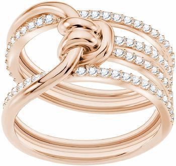 Swarovski Lifelong Wide Ring weiß rosé 52 (5402432)