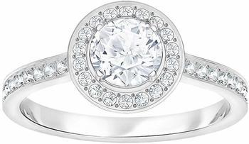 Swarovski Attract Light Round Ring weiß 58 (5409187)