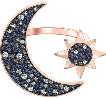 Swarovski Symbolic Moon Ring multicoloured