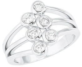 S.Oliver Ring (000000000001268096) silber