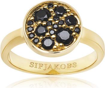 Sif Jakobs Jewellery Novara Ring SJ-R1056-BK-YG