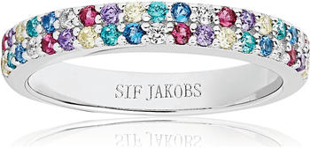 Sif Jakobs Jewellery Corte Due Ring silver