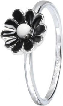 Stack Ring Co Blumenring schwarz (SR01005D)