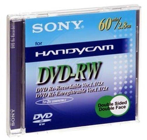 Sony DVD-RW Mini 2,8GB 60min 2x doppelseitig 1er Jewelcase