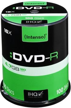 Intenso DVD-R 4,7GB 120min 16x 100er Spindel