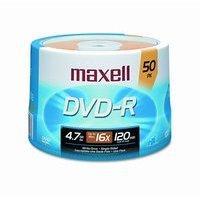 Maxell DVD-R 4,7GB 120min 16x gold 50er Spindel