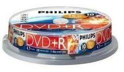 Philips DVD+R 4,7GB 16x 10er Spindel
