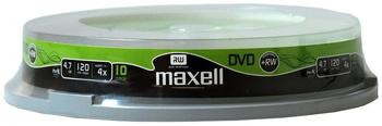 Maxell DVD+RW 4,7GB 120min 4x 10er Spindel