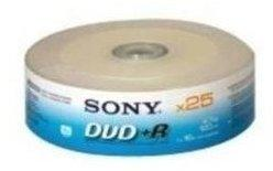 Sony DVD+R 4.7GB 16x 25er Spindel